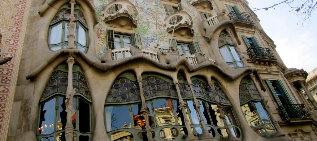 Barcelona, ​​Gaudi buildings
