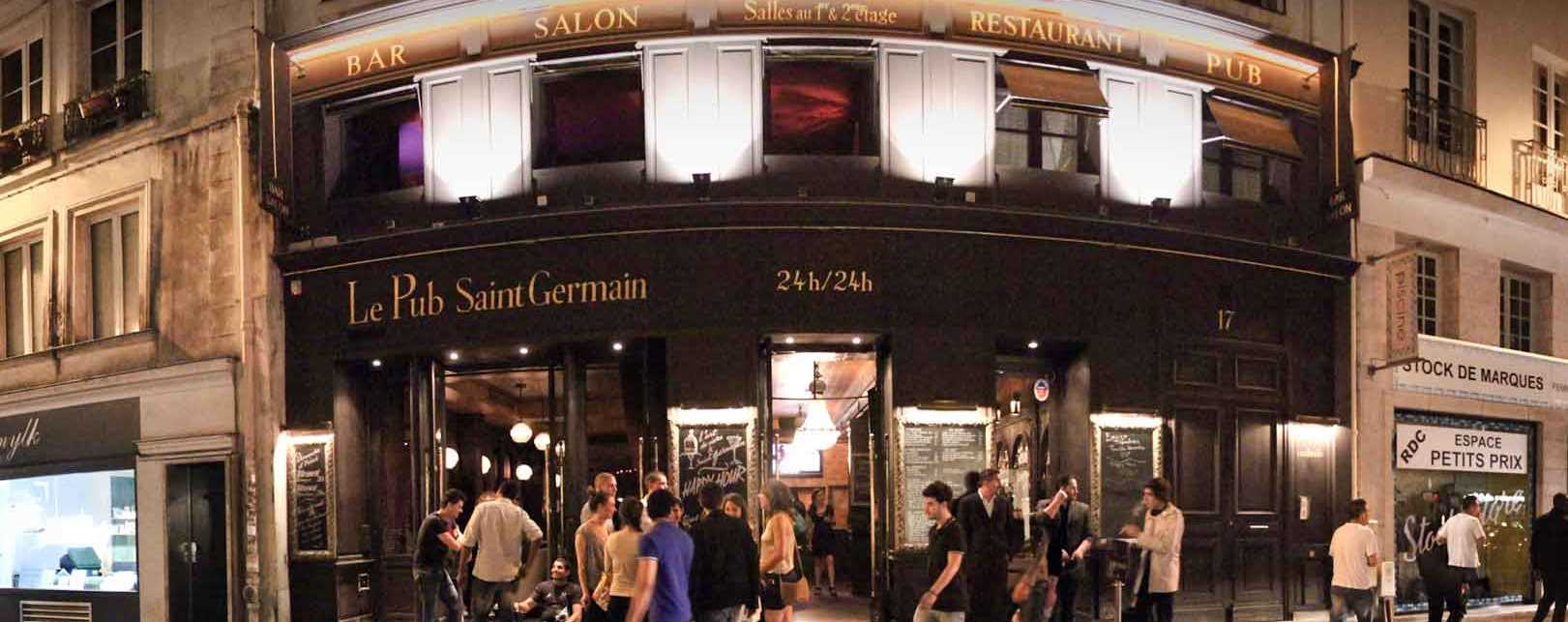 Париж, ресторан Le Pub Saint Germain
