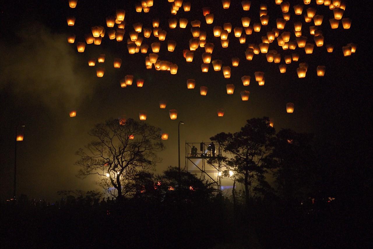 Фестиваль фонариков, Флоренция